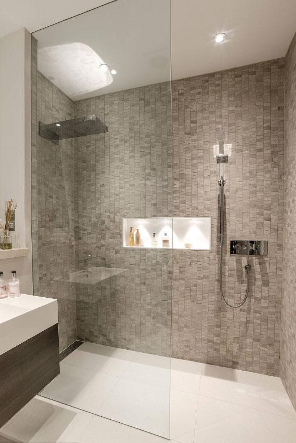 Walk In Shower Ideas - Sebring Design Build