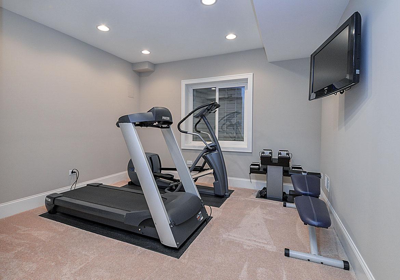 Best Home Gym Flooring & Workout Room Flooring Options - Sebring Design Build