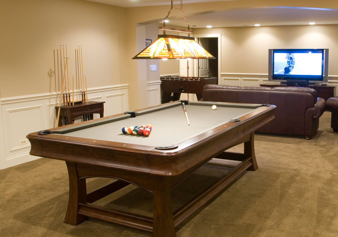 Cool Pool Table Lights to Illuminate Your Game Room - Sebring Design Build