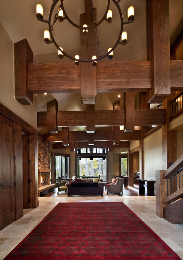 Faux Wood Beams - Sebring Design Build