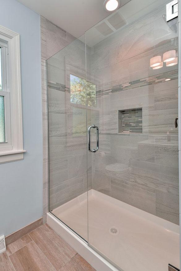 Frameless Glass Shower Doors - Sebring Design Build