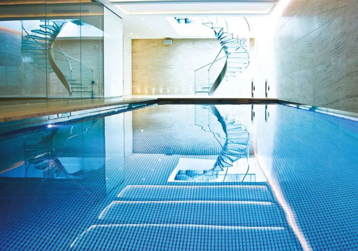 Indoor Pool and Hot Tub Ideas Swim With Style At Home!
