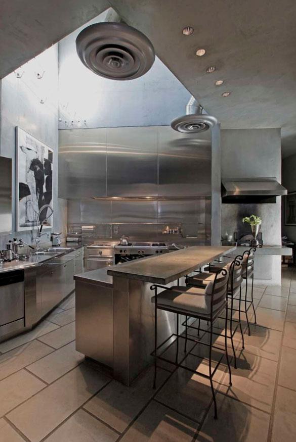Sleek Stainless Steel Countertop Ideas & Quick Guide - Sebring Design Build