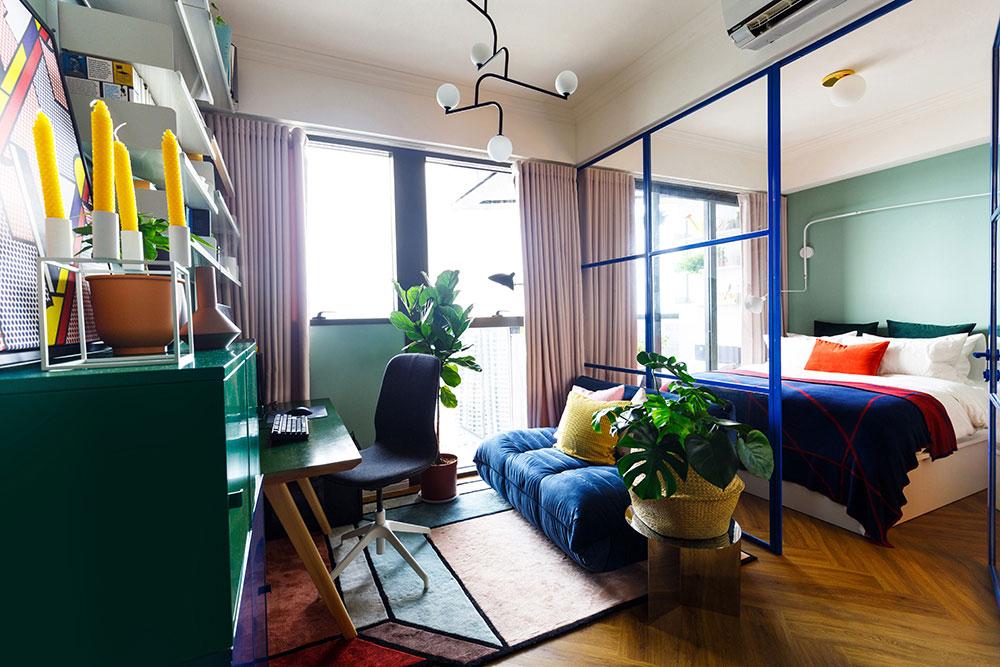 Loft style window frames