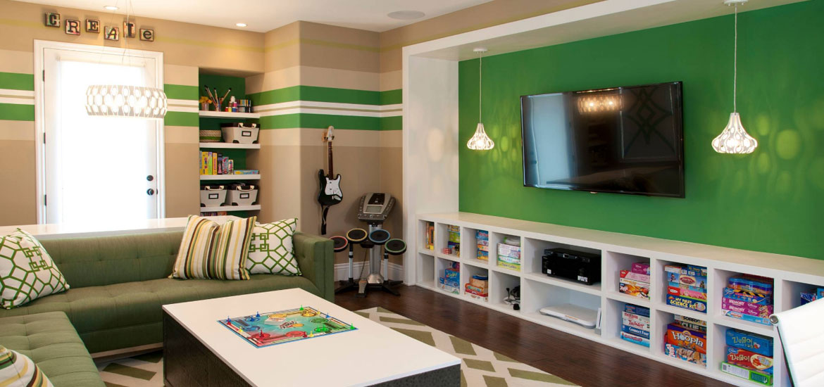 Best Video Game Room Ideas - Sebring Services